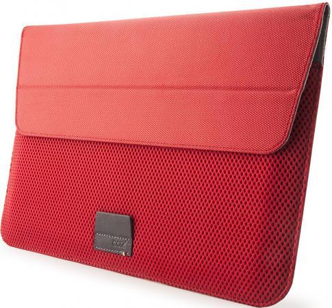 Чехол для ноутбука MacBook Pro 15 Cozistyle ARIA Stand Sleeve поликарбонат красный CASS1511 сумка cozistyle aria smart sleeve macbook 15 pro retina lily white