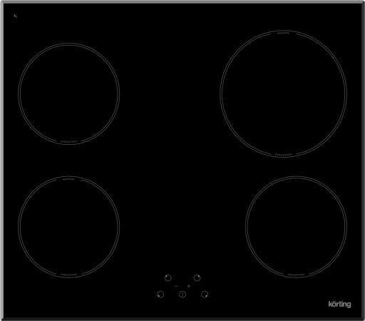 Варочная панель электрическая Korting HI 64021 B черный варочная панель korting hi 64021 b