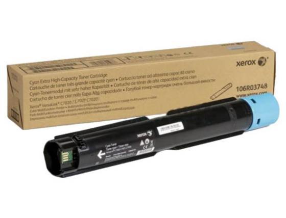 Картридж Xerox 106R03748 для VersaLink C7020/C7025/C7030 голубой 16000стр
