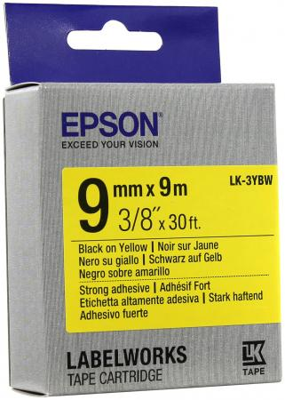 Лента Epson LK-3YBW C53S653005 цена