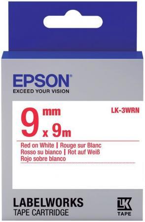 Лента Epson LK-3WRN C53S653008 лента epson lk 4sbm c53s654019