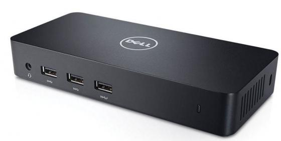Док-станция для ноутбуков Dell Ultra HD Triple Video Docking Station D6000 452-BCYH док станция для ноутбуков hp docking station 90w a7e32aa