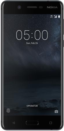 Смартфон NOKIA 5 DS черный 5.2 16 Гб NFC LTE Wi-Fi GPS смартфон nokia 8 ds ta 1004 g copper