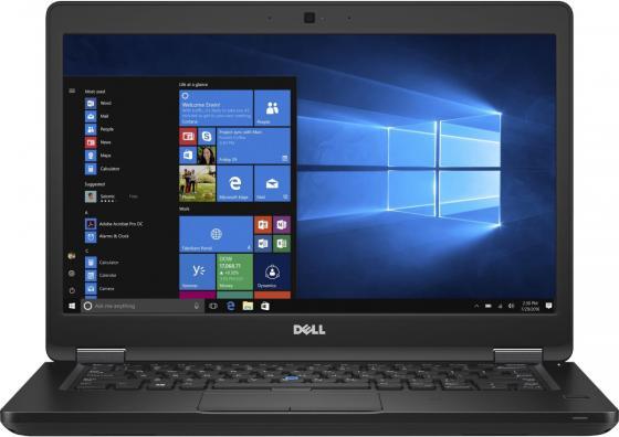 Ноутбук Dell Latitude 5480 Core i5 6200U/8Gb/SSD256Gb/Intel HD Graphics 520/14/FHD (1920x1080)/Windows 7 Professional 64 +W10Pro/black/WiFi/BT/Cam