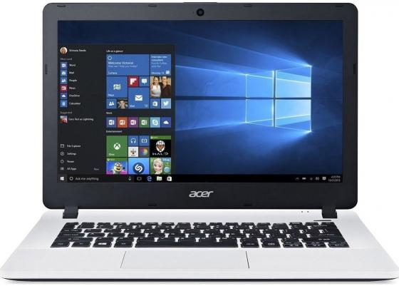 Ноутбук Acer Aspire ES1-331-C5DP 13.3 1366x768 Intel Celeron-N3060 32 Gb 2Gb Intel HD Graphics 400 белый Windows 10 Home NX.G18ER.003 ноутбук acer aspire e5 532 15 6 1366x768 intel celeron n3050 nx myver 016