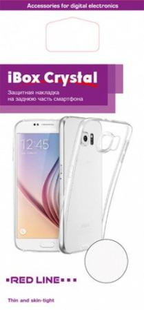 Чехол Redline для Samsung Galaxy J5 Prime iBox Crystal прозрачный УТ000009895 защитное стекло redline для samsung galaxy j5 prime g570 1 шт [ут000009909] page 5 page 4