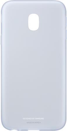 Чехол Samsung EF-AJ330TLEGRU для Samsung Galaxy J3 2017 Jelly Cover голубой чехол клип кейс samsung protective standing cover great для samsung galaxy note 8 темно синий [ef rn950cnegru]