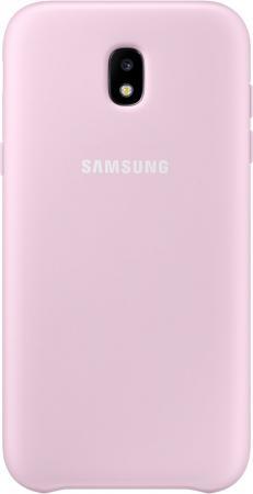 Чехол Samsung EF-PJ330CPEGRU для Samsung Galaxy J3 2017 Dual Layer Cover розовый чехол клип кейс samsung protective standing cover great для samsung galaxy note 8 темно синий [ef rn950cnegru]