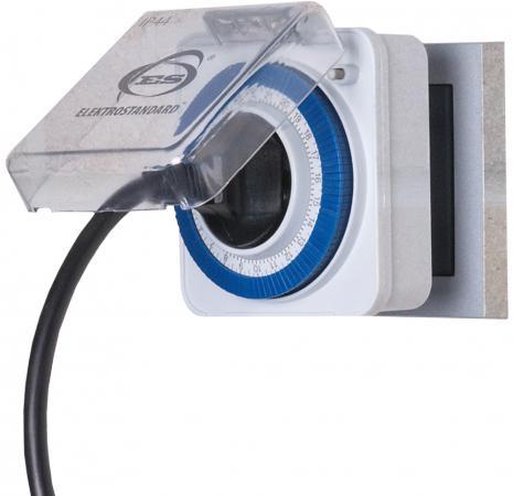 Розетка-таймер Elektrostandard TMH-M-2 16A x1 IP44 Белый 4690389032394