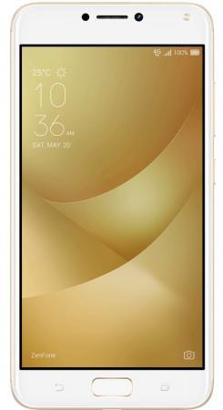 Смартфон ASUS ZenFone 4 Max ZC554KL золотистый 5.5 16 Гб LTE Wi-Fi GPS 3G 90AX00I2-M00020 смартфон asus zenfone 3 max zc553kl серебристый 5 5 32 гб lte wi fi gps 3g 90ax00d3 m00300