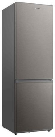 Холодильник SHIVAKI BMR-1881NFX серебристый холодильник shivaki bmr 2013dnfw белый серебристый