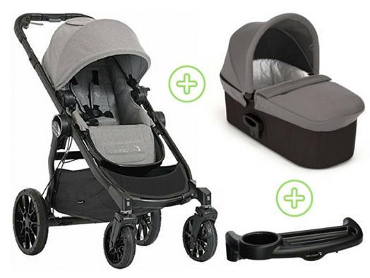 Коляска 2-в-1 Baby Jogger City Select Lux (набор 1/state) дождевик baby jogger city select single seat rain canopy