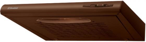 Вытяжка козырьковая Hansa OSC5111BH коричневый вытяжка подвесная hansa osc5111bh