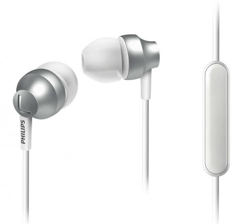 Гарнитура Philips SHE3855 серебристый