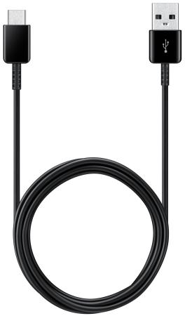Кабель Samsung EP-DG930MBRGRU USB Type-C-USB 2.0 черный 1.5м 50pcs micro usb 3 0 male to usb c usb 3 1 type c female extension data cable for macbook tablet 10cm by fedex