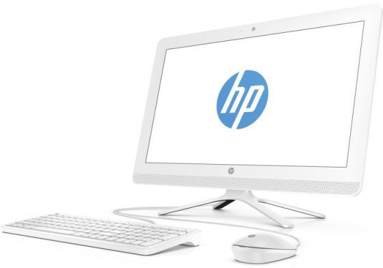 Моноблок 21.5 HP 22-b345ur 1920 x 1080 Intel Core i3-7100U 4Gb 1 Tb Intel HD Graphics 620 DOS белый 2BW19EA sheli laptop motherboard for hp 4720s 633552 001 for intel cpu with non integrated graphics card 100
