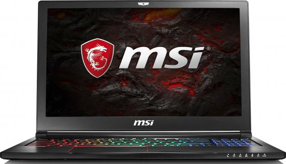 Ноутбук MSI GS63VR 7RF-496RU Stealth Pro 15.6 1920x1080 Intel Core i7-7700HQ 1 Tb 128 Gb 16Gb nVidia GeForce GTX 1060 6144 Мб черный Windows 10 Home 9S7-16K212-496 protective plastic rain drop case for iphone 5 transparent blue transparent