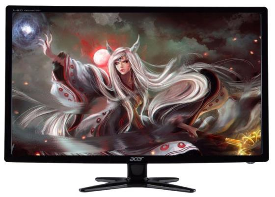 Монитор 27 Acer G276HLJbid черный TN 1920x1080 250 cd/m^2 5 ms DVI HDMI VGA монитор 21 5 asus ve228tlb черный tft tn 1920x1080 250 cd m^2 5 ms dvi vga аудио usb
