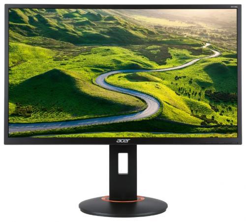 Монитор 27 Acer XF270HAbmidprzx черный TN 1920x1080 400 cd/m^2 1 ms DVI HDMI DisplayPort Аудио USB монитор 28 acer xb281hkbmiprz predator черный tn 3840x2160 300 cd m^2 1 ms hdmi displayport usb um px1ee 001