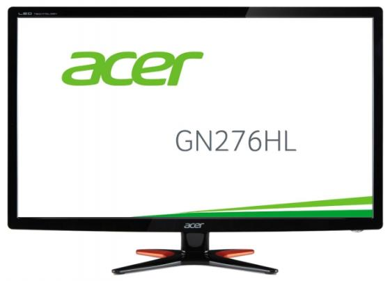 Монитор 27 Acer GN276HLbid черный TN 1920x1080 300 cd/m^2 1 ms DVI HDMI VGA UM.HG6EE.006