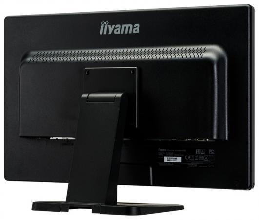 """Монитор 24"""" iiYama PL2452MT черный TN 1920x1080 260 cd/m^2 2 ms DVI HDMI VGA Аудио USB T2452MTS-B5"""