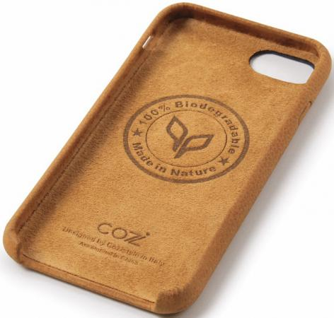 Чехол Cozistyle CGLC7+018 для iPhone 7 Plus коричневый чехол крышка rf brown marble glossy для iphone 7 plus коричневый