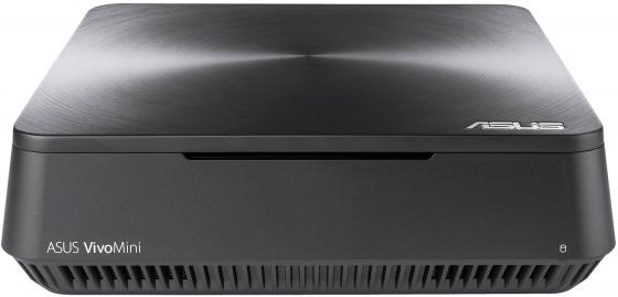 Неттоп ASUS VM45-G019Z Intel Celeron-3865U 2Gb 500Gb Intel HD Graphics 610 Windows 10 серый 90MS0131-M00190 ноутбук asus x553sa xx137d 15 6 intel celeron n3050 1 6ghz 2gb 500tb hdd 90nb0ac1 m05820