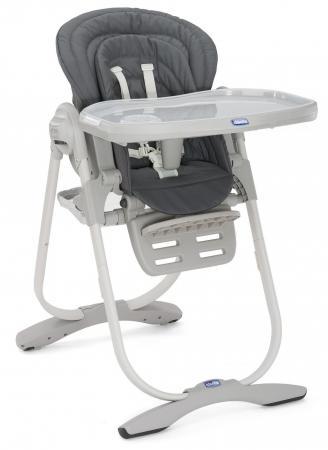 Сменный чехол для стульчика Chicco Polly Magic (graphite) высокий стул для кормления chicco polly happy land
