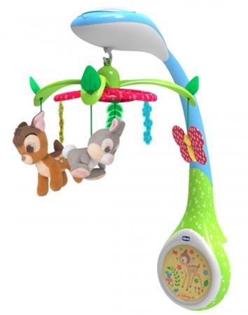 Игрушка-проектор для кроватки Chicco Бэмби мобили chicco игрушка проектор для кроватки бемби