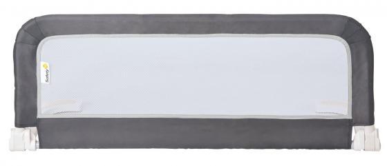 Складной защитный барьер для детской кроватки Safety 1st (106 см/белый-серый safety 1st safety 1st стульчик для кормления timba with tray and cushion grey patches серый