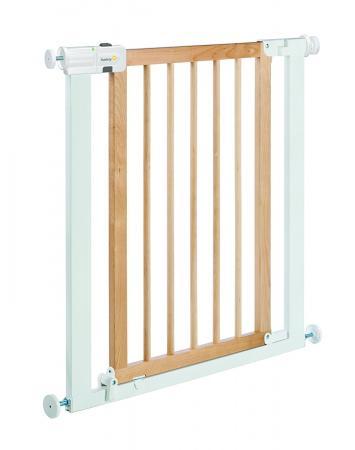 Ворота безопасности 73-80 см Safety 1st Easy Close Wood & Metal (белый-натуральное дерево) барьеры и ворота red castle auto close ворота безопасности для дверей и лестниц 68 5 75 5