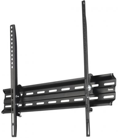 Кронштейн HAMA H-118108 черный для ЖК ТВ до 32-75 настенный фиксированный до 40кг кронштейн hama h 118663 черный 35кг 47