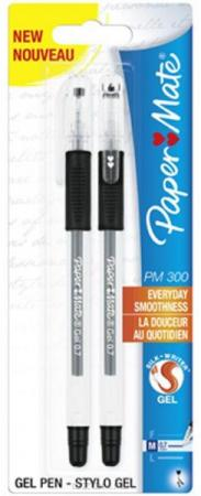Набор гелевых ручек Paper Mate PM 300 2 шт черный 0.7 мм PM-S0929300 цена