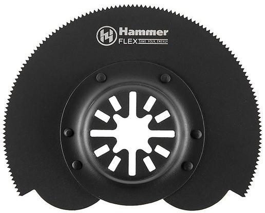 Полотно пильное Hammer Flex 220-018 MF-AC 018 для МФИ сегм.диск 80мм дерево/мет 54509