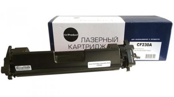 Картридж NetProduct CF230A для HP LaserJet Pro M203/MFP M227 черный 1600стр