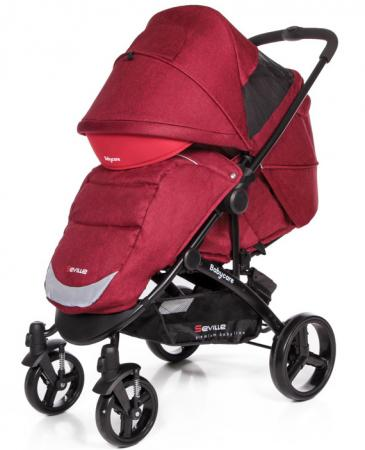 Прогулочная коляска Baby Care Seville (red 17) baby care variant 4 red