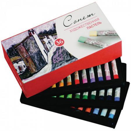 Набор художественной пастели Завод художественных красок СОНЕТ 36 цветов 7141225