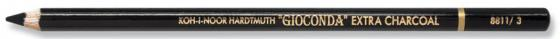 Уголь художественный для рисования Koh-i-Noor 8811/3 от 6 лет карандаш koh i noor 8802 1 цвет от 3 лет