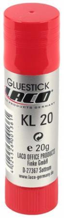 Клей-карандаш Laco KL 20 (2613030) 20 гр. карандаш клеящий forum office collection 20 гр