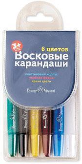 Восковые мелки Альт Multicolor 31-0003 6 штук цветов от 5 лет