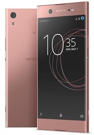 Смартфон SONY Xperia XA1 Ultra Dual розовый 6 32 Гб NFC LTE Wi-Fi GPS 3G G3212 смартфон bq aquaris x5 plus белый розовый 5 16 гб nfc lte wi fi gps 3g c000208