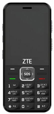 Мобильный телефон ZTE N1 черный 2.4 32 Мб мобильный телефон zte r550 красный черный