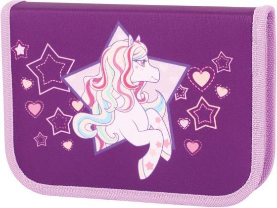 Пенал на одной молнии Tiger Enterprise Rainbow Pony цена