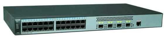 Коммутатор Huawei S5720S-28P-LI-AC 24 порта 10/100/1000Mbps 4xSFP 98010578 коммутатор huawei s5720s 28x li ac