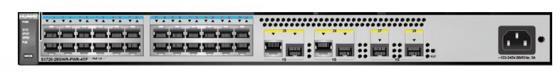 Коммутатор Huawei S1720-28GWR-PWR-4TP- 24 порта 10/100/1000Mbps 4xSFP 98010752