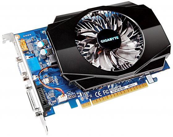 Видеокарта 2048Mb Gigabyte GT730 PCI-E GDDR3 128bit VGA HDMI DVI GV-N730-2GI V1.1 Retail видеокарта 2048mb gigabyte gt730 pci e gddr5 64bit vga hdmi dvi hdcp gv n730d5 2gi retail