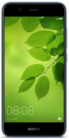 Смартфон Huawei Nova 2 синий 5 64 Гб LTE Wi-Fi GPS 3G 51091TNT смартфон meizu m5 note серебристый 5 5 32 гб lte wi fi gps 3g