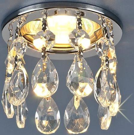 Встраиваемый светильник Elektrostandard 2055 MR16 CH/CL 4690389019128