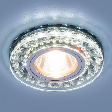 Встраиваемый светильник Elektrostandard 2192 MR16 SBK дымчатый 4690389098864 selenga t40 2192