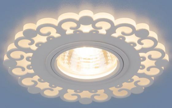 Встраиваемый светильник Elektrostandard 2196 MR16 WH белый 4690389101014